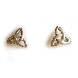 Sterling silver celtic knot studs
