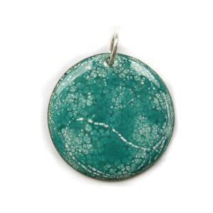 ep002 £22 enamel pendant & chain
