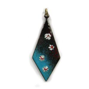 ep004 £20 enamel pendant & chain