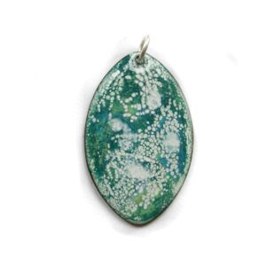ep013 £22 enamel pendant & chain