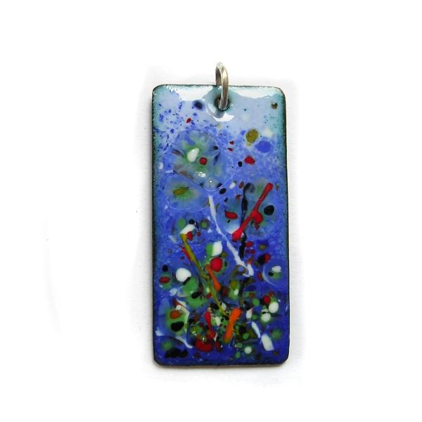 ep014 £22 enamel pendant & chain