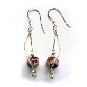 Twirly earrings