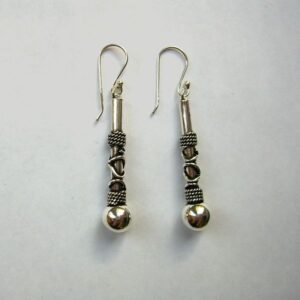 Silver bali style Earrings SB040